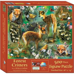Forest Critters 500 Piece Jigsaw Puzzle - Sunsout