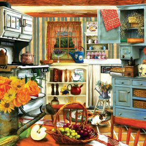 Grandma's Country Kitchen 1000 Piece Jigsaw Puzzle - Sunsout