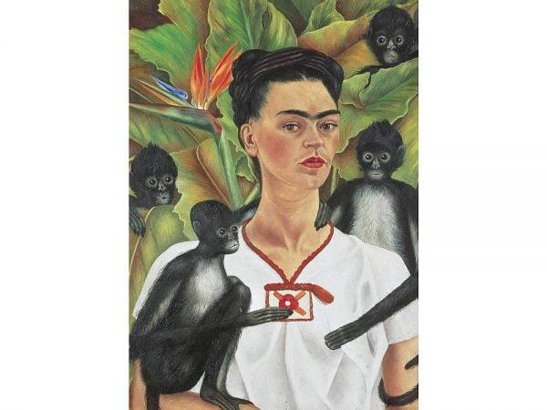 Kahlo Self-Portrait with Monkeys 1000 Piece Jigsaw Puzzle - Piatnik