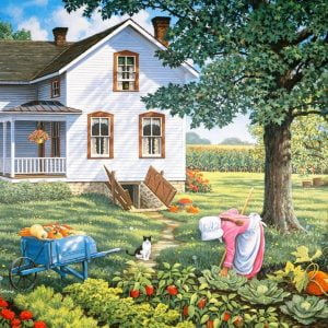 Living a Country Life - Farmer's Daughter 1000 Piece Jigsaw Puzzle - Holdson