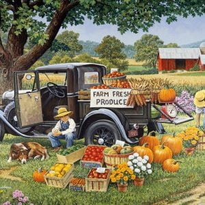 Living a Country Life - Home Grown 1000 Piece Jigsaw Puzzle - Holdson