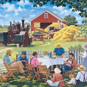 Living a Country Life - Our Daily Bread 1000 Piece Jigsaw Puzzle - Holdson