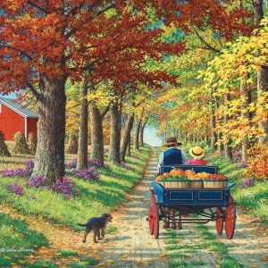 Living a Country Life - Shady Lane 1000 Piece Jigsaw Puzzle - Holdson