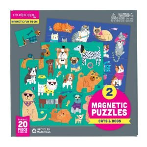 Magnetic Puzzles - Cats & Dogs - Mudpuppy
