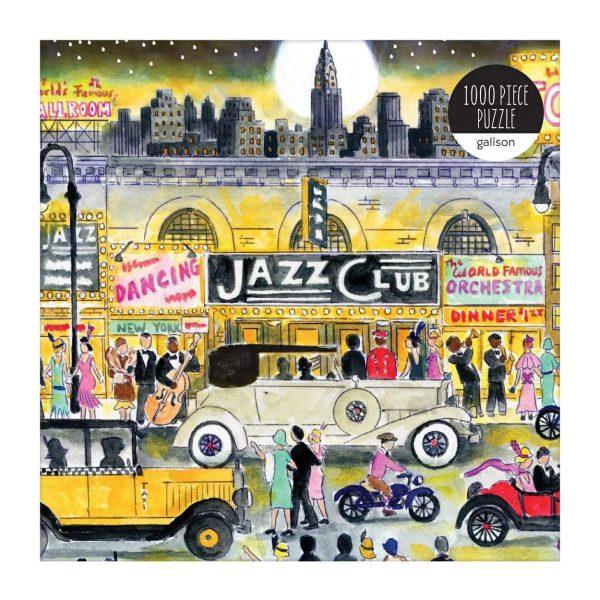 Michael Storrings - Jazz Age 1000 Piece Jigsaw Puzzle - Galison