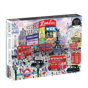 Michael Storrings - London 1000 Piece Jigsaw Puzzle - Galison