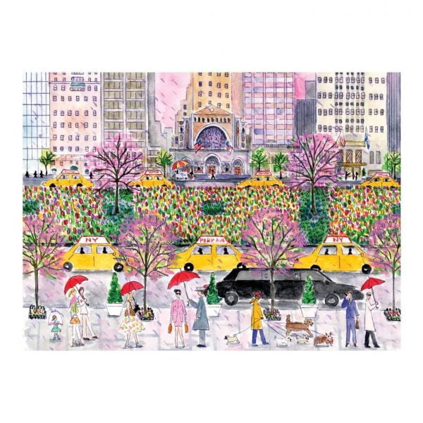 Michael Storrings - Spring on Park Ave 1000 Piece Jigsaw Puzzle