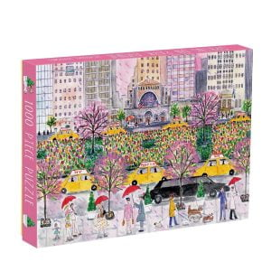 Michael Storrings - Spring on Park Ave 1000 Piece Jigsaw Puzzle - Galison