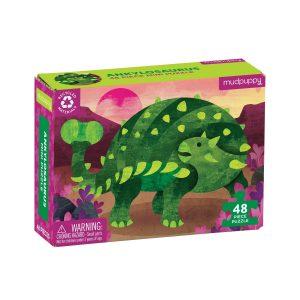 Mini Puzzle - Ankylosaurus 48 Piece - Mudpuppy