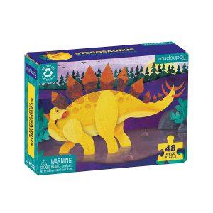 Mini Puzzle Stegosaurus 48 Piece Puzzle - Mudpuppy