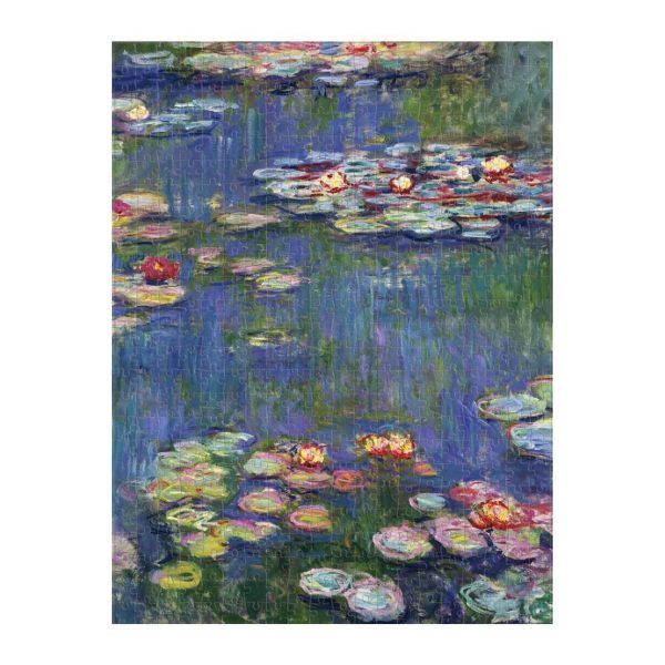 Monet 2-in-1 Double Sided 500 Piece Jigsaw Puzzle - Galison
