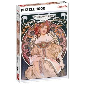 Mucha, Traumerei 1000 Piece Jigsaw Puzzle - Piatnik