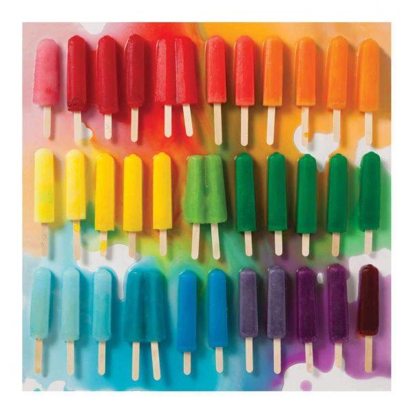 Rainbow Popsicles 500 Piece Jigsaw Puzzle - Galisons