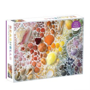 Rainbow Seashells 2000 Piece Jigsaw Puzzle - Galison