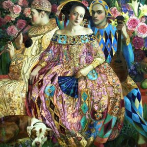 Renaissance Realm 2 - Love Interest 1000 Piece Jigsaw Puzzle - Holdson