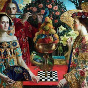 Renaissance Realm 2 - The Duel 1000 Piece Jigsaw Puzzle - Holdson