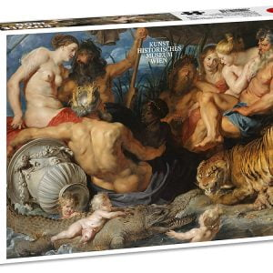 Rubens, 4 Rivers of Paradise 1000 Piece Jigsaw Puzzle - Piatnik