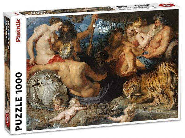Rubens, 4 Rivers of Paradise 1000 Piece Jigsaw Puzzle - Piatnik