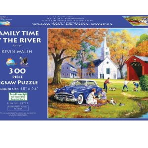 Family Time by the River 300 XL Piece Jigsaw Puzzle - Sunsout