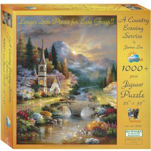 A Country Service 1000XL Piece Jigsaw Puzzle - Sunsout