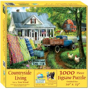 Countryside Living 1000 Piece Jigsaw Puzzle - Sunsout