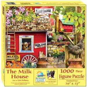 The Milk House 1000 Piece Jigsaw Puzzle - Sunsout