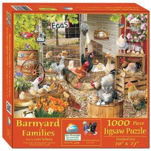 Barnyard Stories 1000 Piece Jigsaw Puzzle - Sunsout