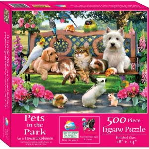 Pets in the Park 500 Piece Jigsaw Puzzle - Sunsout