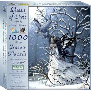 Queen of Owls 1000 Piece Jigsaw Puzzle - Sunsout
