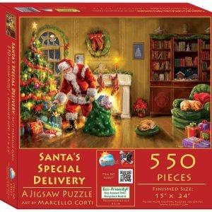 Santa's Special Delivery 550 Piece Jigsaw Puzzle - Sunsout