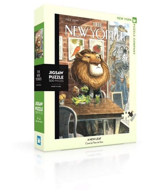 The New Yorker - A New Leaf 500 Piece Jigsaw Puzzle