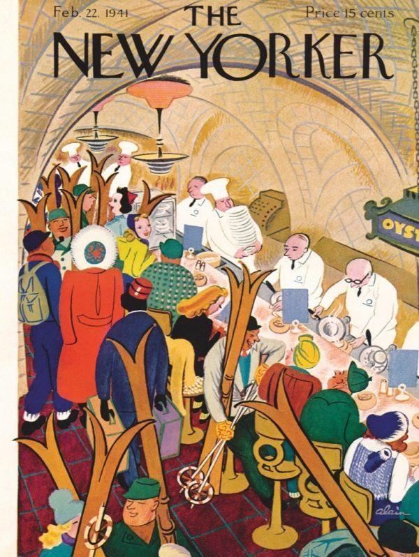 The New Yorker - Apres-Ski 1000 Piece Jigsaw Puzzle