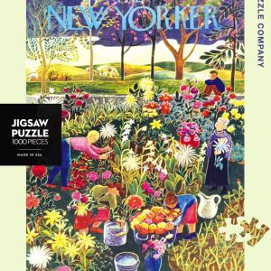 The New Yorker - Flower Garden 1000 Piece Jigsaw Puzzle