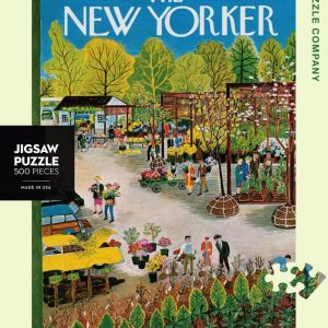 The New Yorker - Garden Center 500 Piece Jigsaw Puzzle