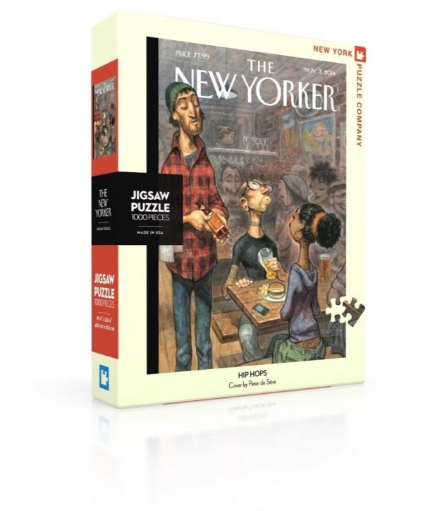 The New Yorker - Hip Hops 1000 Piece Jigsaw Puzzle