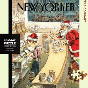 The New Yorker - Santa'a Little Helpers 1000 Piece Jigsaw Puzzle