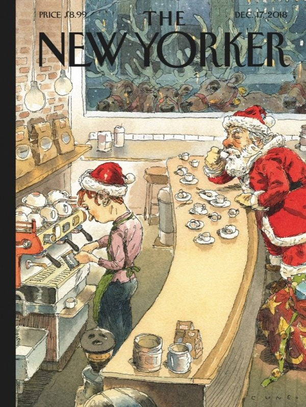 The New Yorker - Santa's Little Helpers 1000 Piece Jigsaw Puzzle