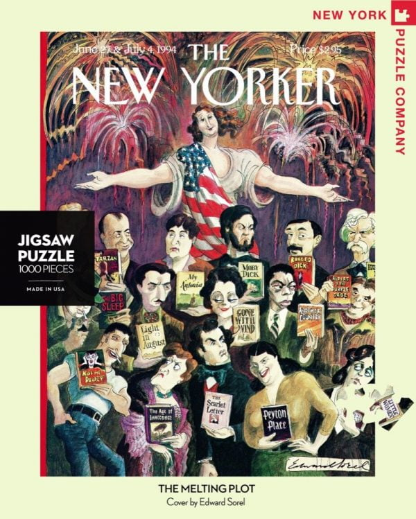 The New Yorker - The Melting Plot 1000 Piece Jigsaw Puzzle