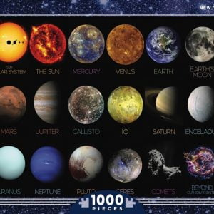 The Solar System 1000 Piece Jigsaw Puzzle - New York Puzzle Company