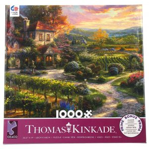 Thomas Kinkade - Wine Country Living 1000 Piece Jigsaw Puzzle - Ceaco