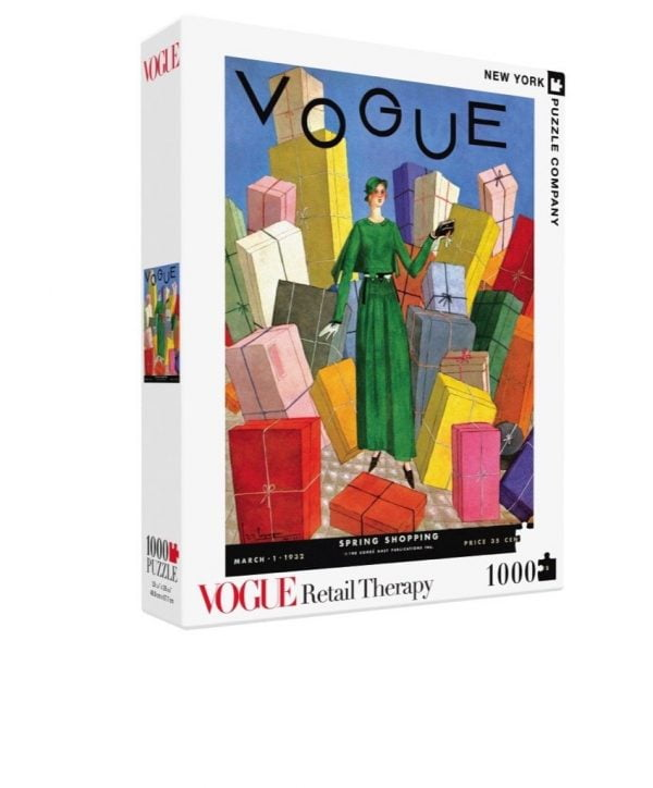Vogue - Retail Therapy 1000 Piece Jigsaw Puzzle - New York Puzzle Company