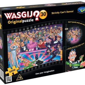 Wasgij Original 30 - Strictly Can't Dance 1000 Piece Jigsaw Puzzle - Holdson