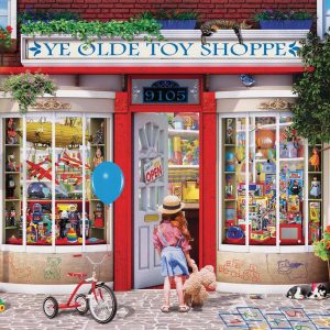 Ye Old Toy Shoppe 1000 Piece Jigsaw Puzzle - Eurographics