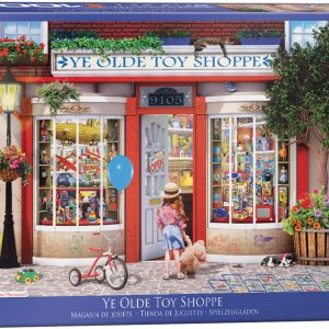 Ye Olde Toy Shoppe 1000 Piece Jigsaw Puzzle - Eurographics