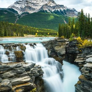 Athabasca Falls Canada 1000 Piece Jigsaw Puzzle - Schmidt