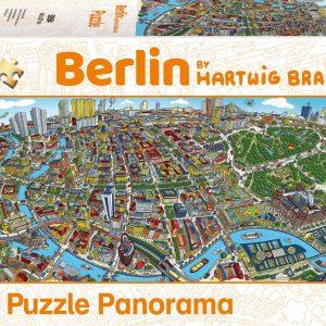 Braun - Berlin 1000 Piece Jigsaw Puzzle - Schmidt