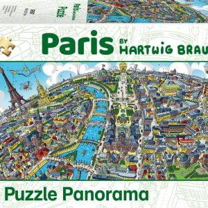 Braun - Paris 1000 Piece Jigsaw Puzzle - Schmidt