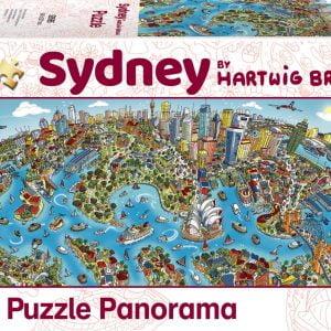 Braun - Sydney 1000 Piece Jigsaw Puzzle - Schmidt
