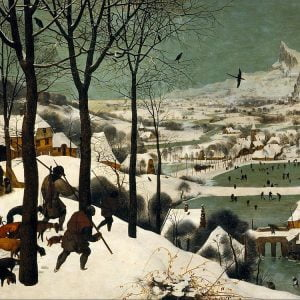 Bruegel, Hunters in the Snow 1000 Piece Jigsaw Puzzle - Piatnik