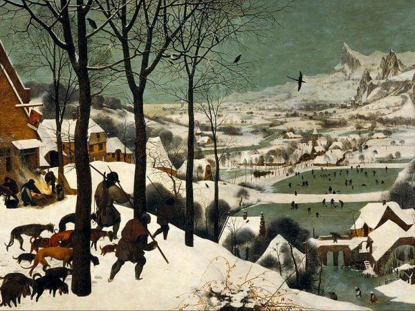 Bruegel, Hunters in the Snow 1000 Piece Jigsaw Puzzle - Piatnik
